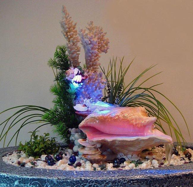 Как сделать фонтан для квартиры своими 197