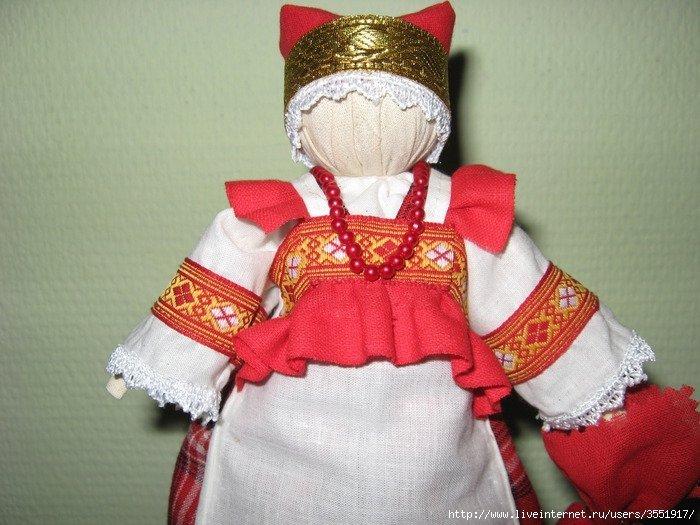 Кукла берегиня своими руками мастер класс в русском стиле
