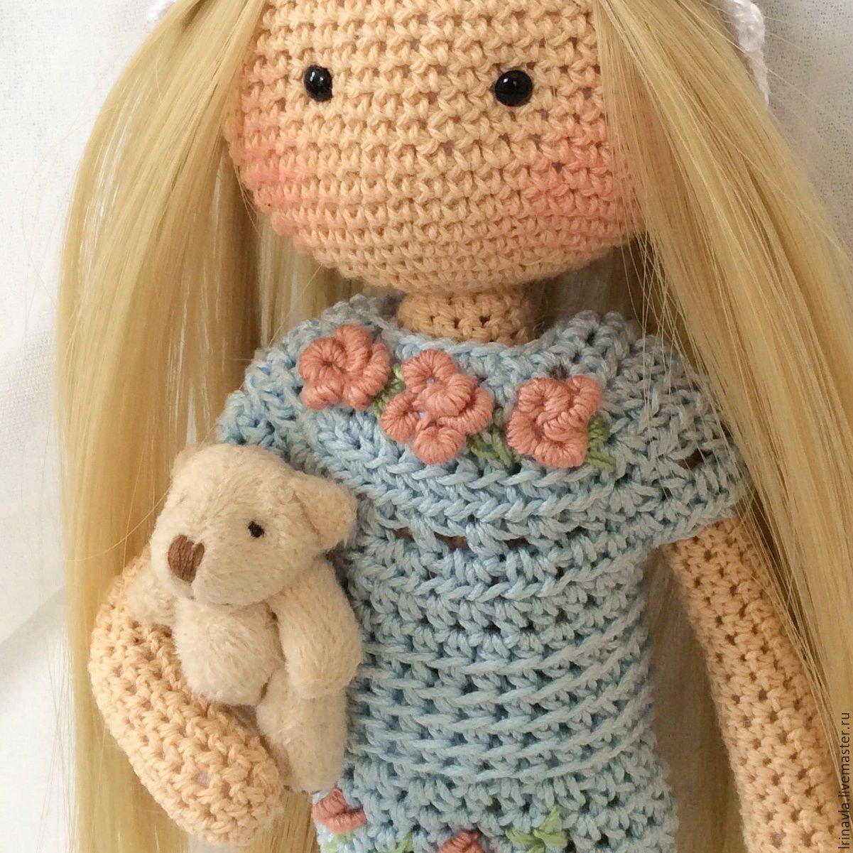 Вязание крючком своими руками куклы 50