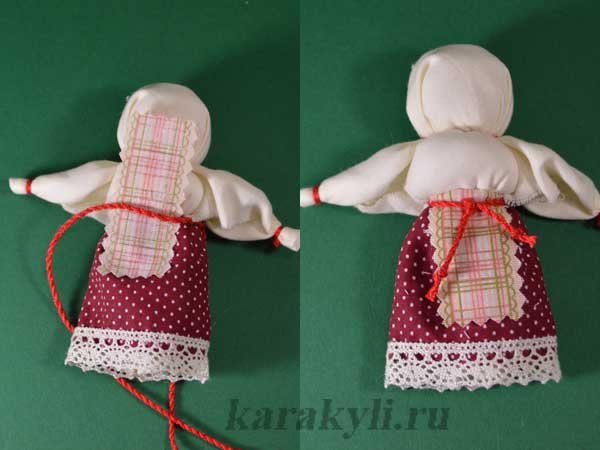 простая тряпичная кукла самых маленьких своими руками