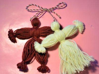Как сделать куклу из ниток: пошаговая инструкция и мастер класс своими руками