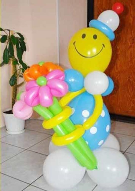 Букет из шаров своим руками фото 604