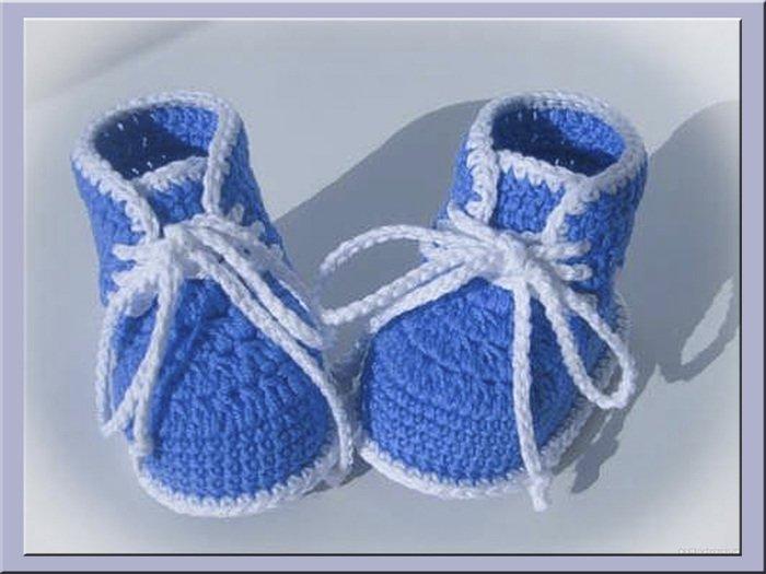 Пинетки ботиночки крючком: мастер класс и схемы