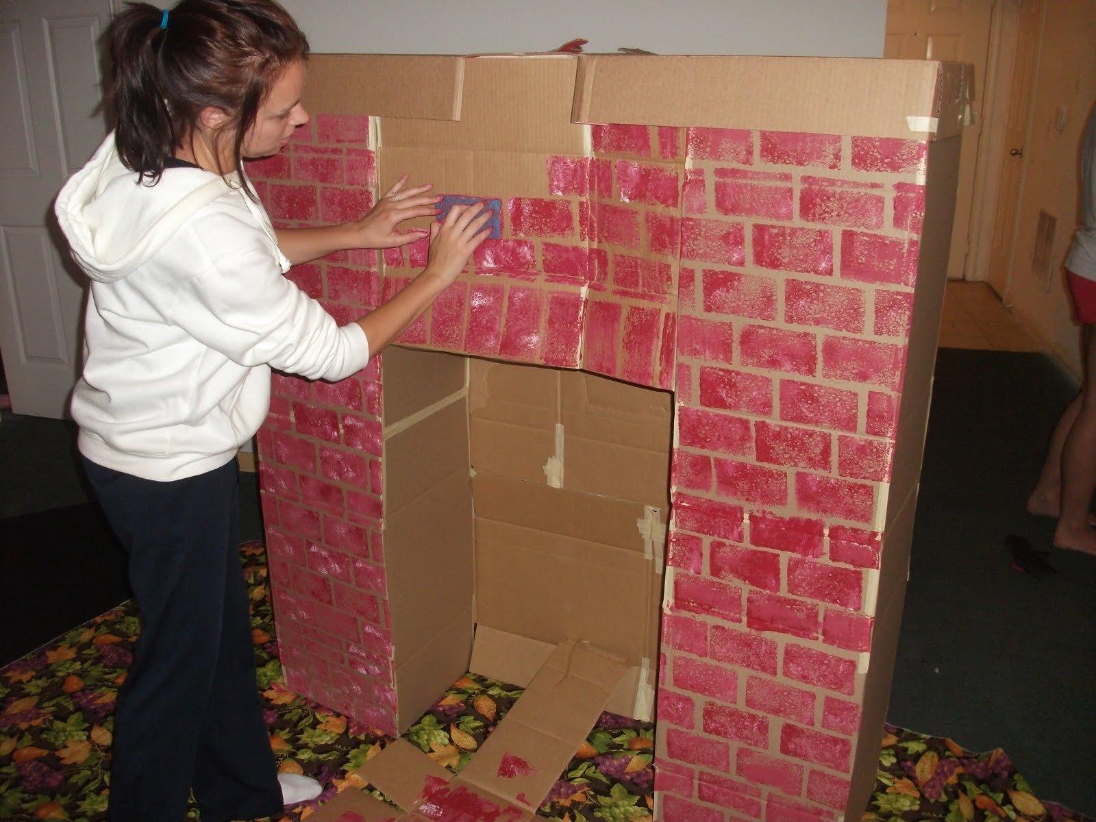 Как сделать декоративный камин своими руками в квартире фото