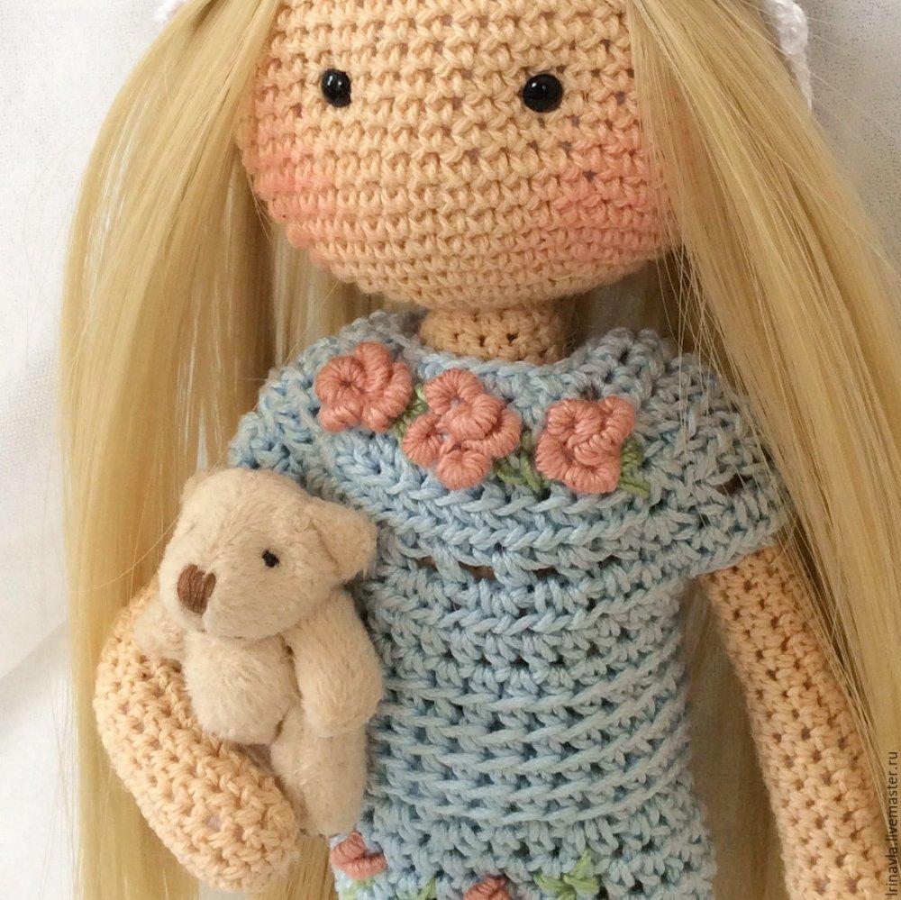 Мастер класс по вязанию амигуруми кукла