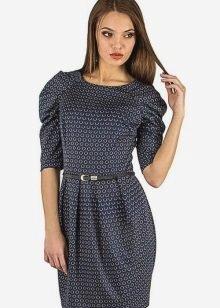 Платье с коротким рукавом: модный вариант реглана в нашем пошаговом МК с фото и видео