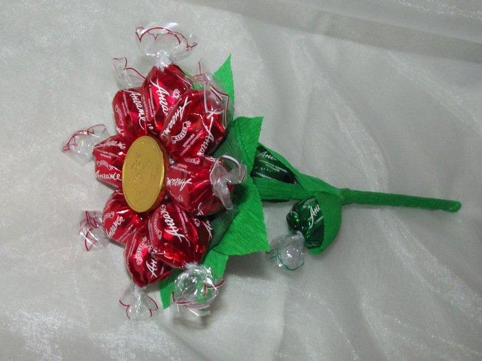 Подарки из конфет пошаговое для начинающих