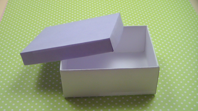 Подарочные коробка с крышкой своими руками