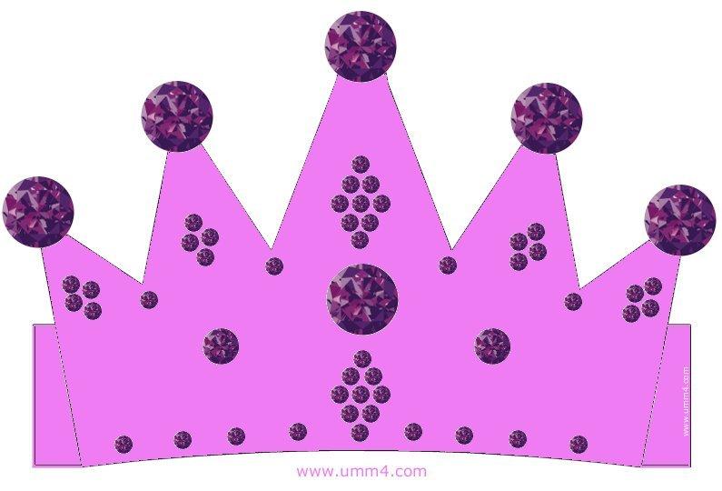 Корона своими руками из картона шаблон для девочек