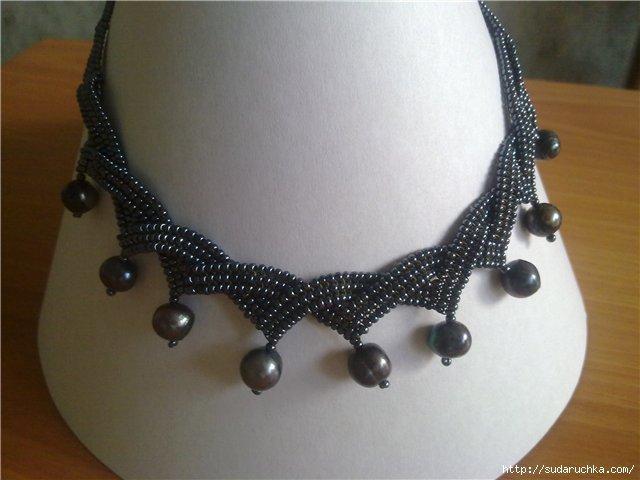 Бисероплетение: схемы колье и ожерелий для начинающих с фото-подборкой