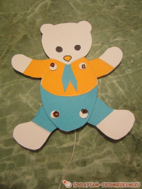 Медведь поделка из картона