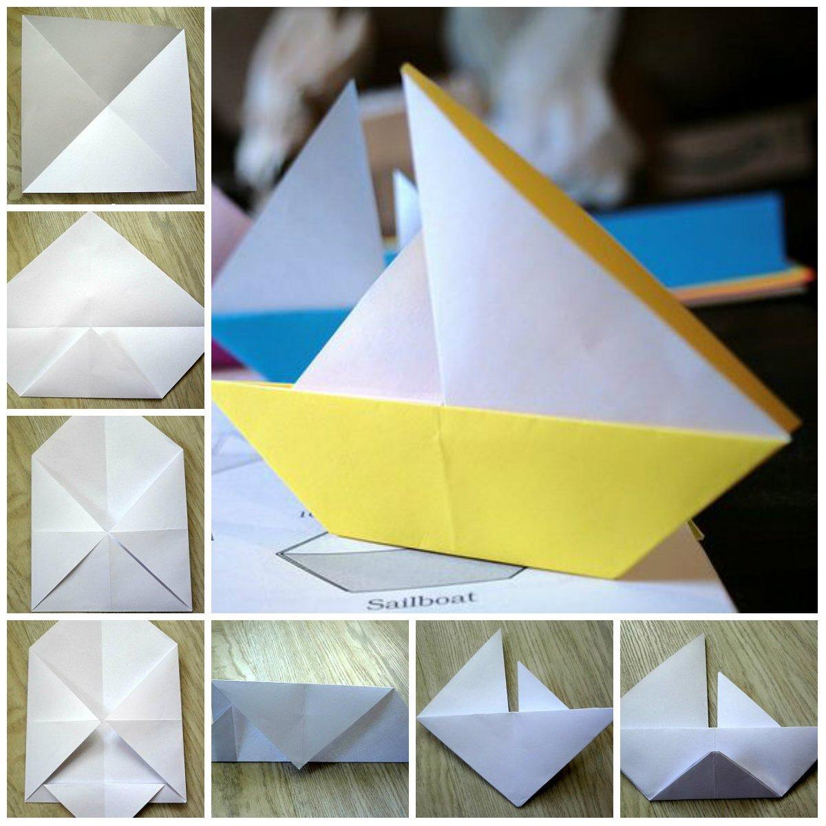 Конструирование в старшей группе из бумаги: оригами