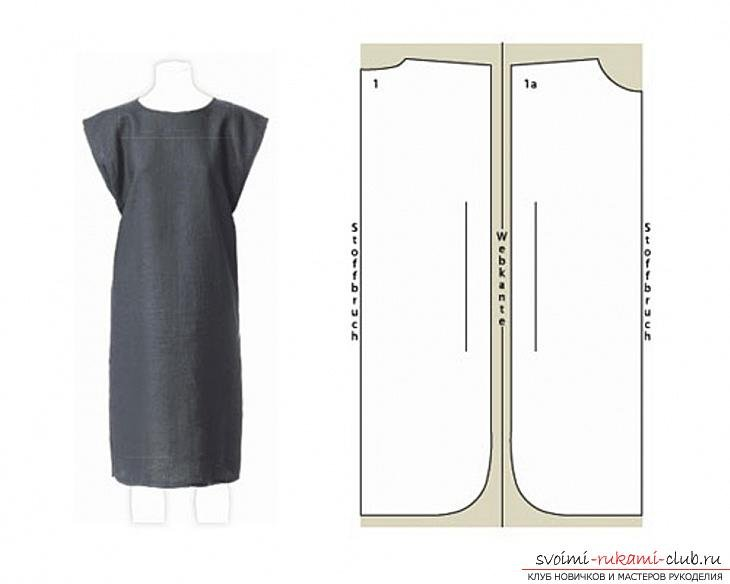 Как сшить самой платье самые простые выкройки своими руками