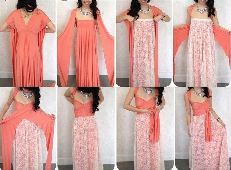 Красивые легкие платья своими руками