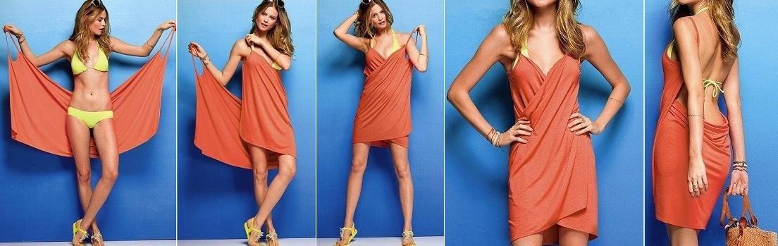 Как сделать легкое платья