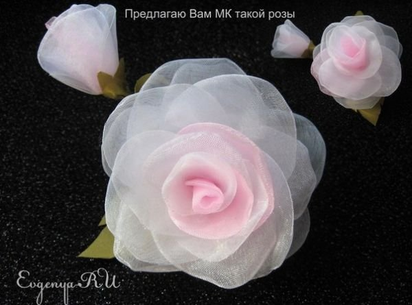 Розы канзаши: мастер класс для начинающих с пошаговыми фото