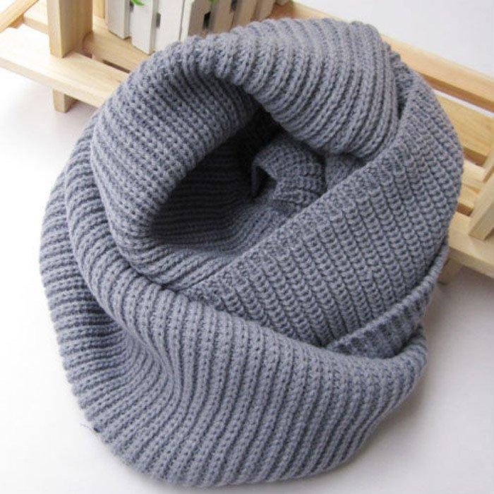 Вязание шарфов хомутов спицами английская резинка