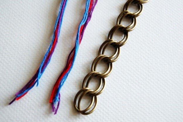 Браслет из нитки своими руками: косичка, мулине и фенечка, МК с пошаговыми фото и видео