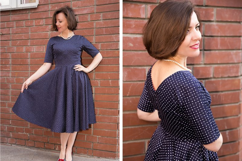 Платье с цельнокроеным рукавом: выкройка, пошаговый МК по шитью с фото и видео
