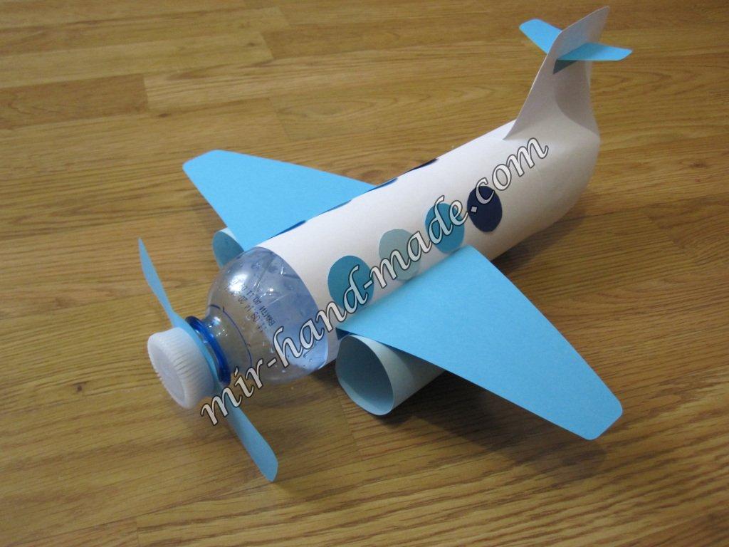 Самолет из картона своими руками