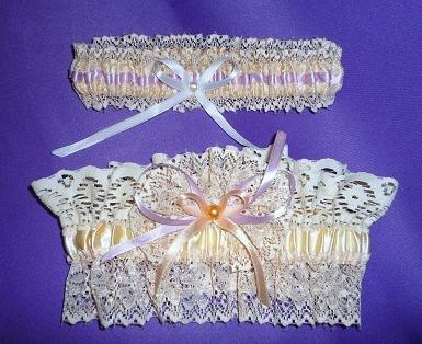 Подвязка невесты своими руками: мастер класс
