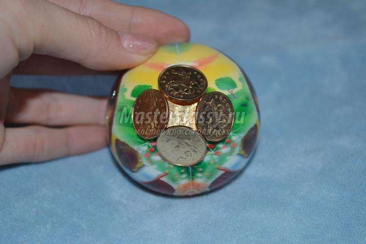 Топиарии из монет: мастер класс как сделать денежное дерево