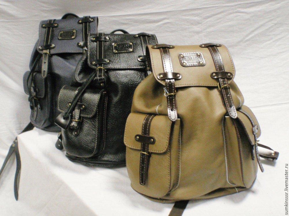 Рюкзак из кожи своими руками