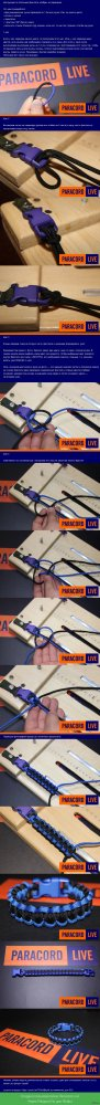 Плетение браслета из паракорда: инструкция как сделать своими руками, МК с пошаговыми фото и видео