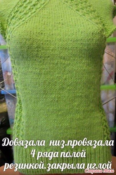 Женская кофта спицами: варианты для начинающих