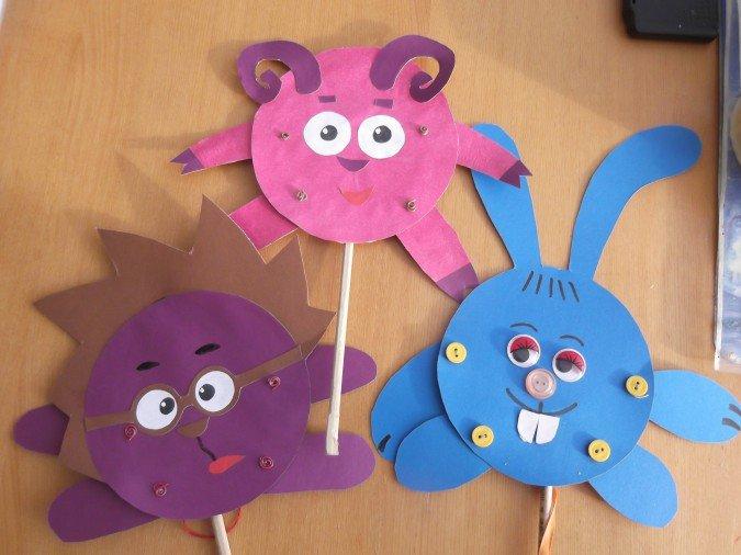 Игрушки из картона своими руками: варианты для детей