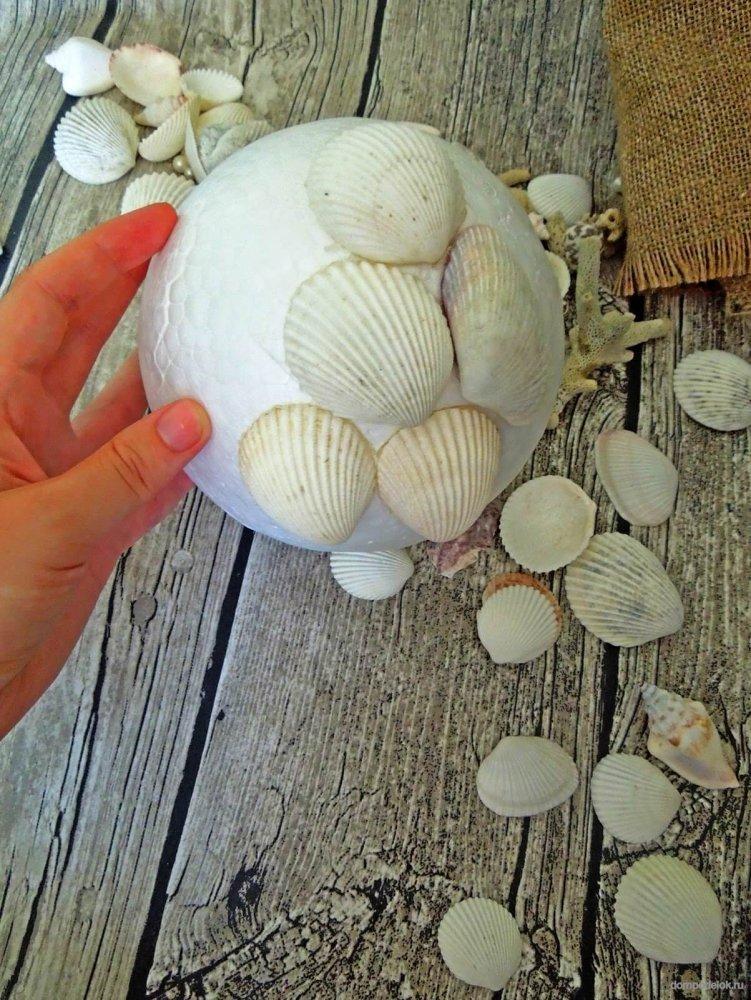 Из чего можно сделать шарик: делаем для декора