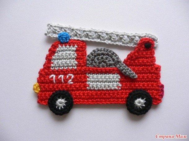 Пожарная машина своими руками: мастер класс с фото и видео