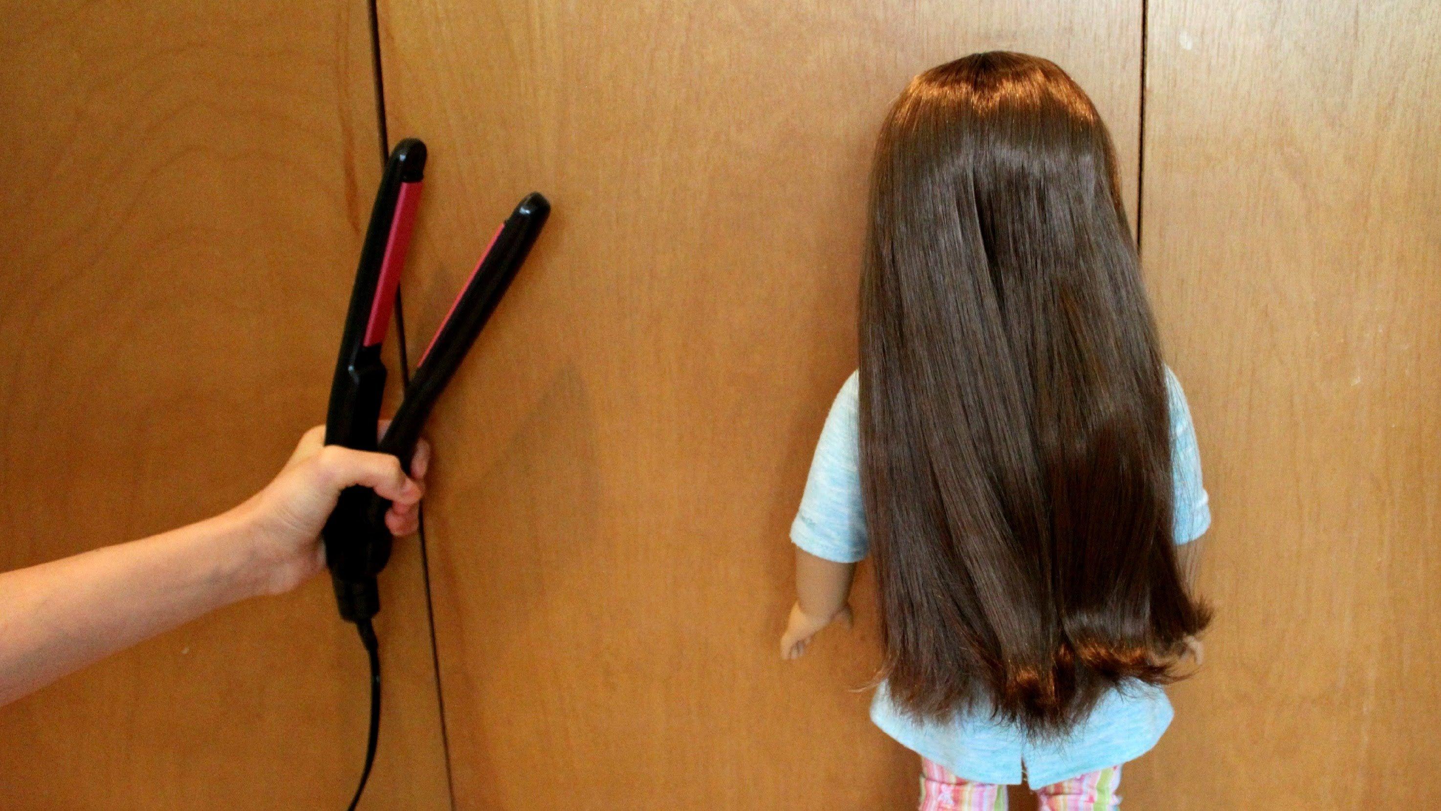 Волосы у куклы в домашних условиях