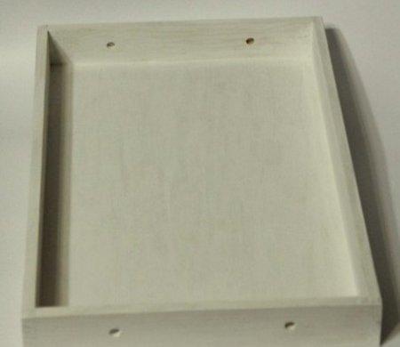 1376563520_01-dekupaj-podnosa Декупаж своими руками в стиле шебби шик. Декупаж металлического подноса: стиль деревянный прованс