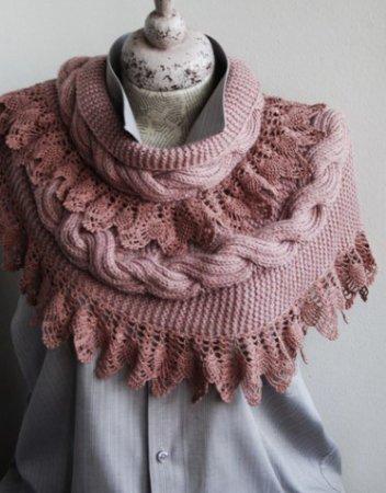 1377878721_ajurnij-vyazanij-sharf-kruchkom- Поиск на Постиле: мужской шарф крючком