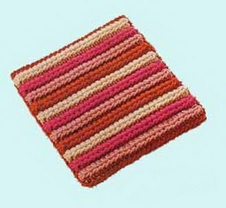 Вязание крючком ковер на пол