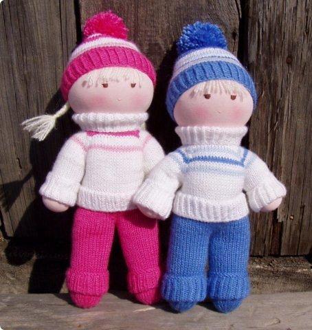 вязаные куклы спицами мастер класс с описанием и схемой