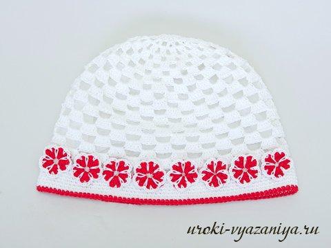 шапочка для девочки крючком схемы на все времена года