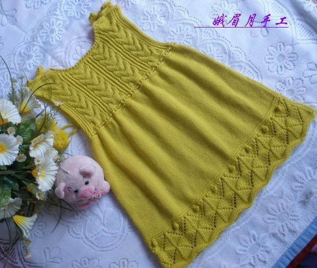 вязаное платье для девочки спицами со схемами и описанием подборка фото