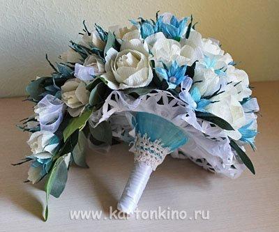 Букеты невесты своими руками мастер класс