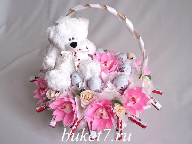 Букет для маленькой девочки своими руками, цветы крым