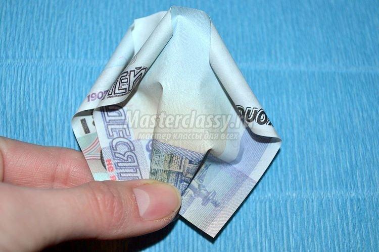 1437162984_1392901285_9_750x500 Цветы из денег пошагово своими руками (фото)