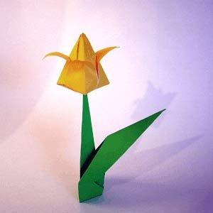 1438601789_1351019531_1 Букет тюльпанов из бумаги (оригами) - 3 варианта