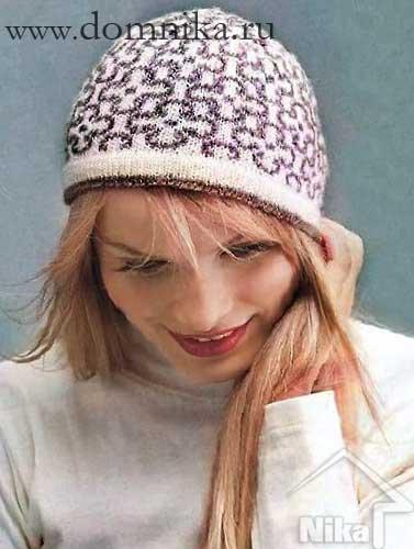 1440849490_104936089_4108541_zhenskaja_vjazanaja_shapka_spicami Как связать шапку спицами для начинающих — схемы вязания, уроки вязания шапки. Как вязать шапку спицами