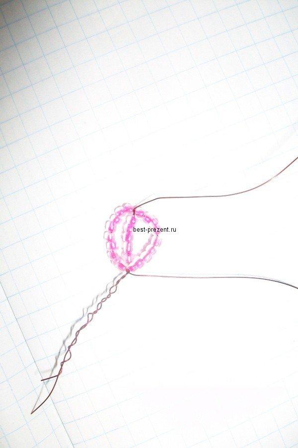 1446895849_51 Как сделать цветы из бисера своими руками: фото, схемы и видео