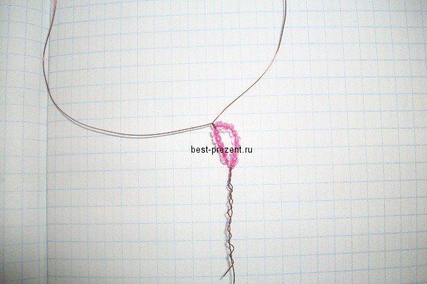 1446895863_41 Как сделать цветы из бисера своими руками: фото, схемы и видео