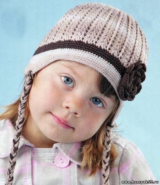 1449934035_93061444 Шапка для девочки крючком на весну, зиму, осень: схемы и описание. Как связать детскую шапку для девочки крючком с ушками, Микки Маус, шлем?