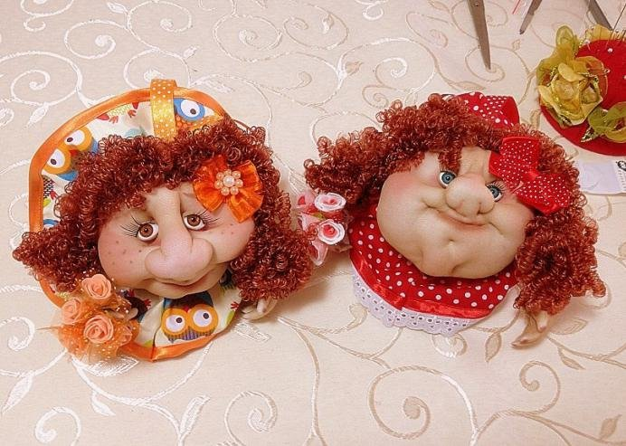 Капроновые куклы попики своими руками фото 426