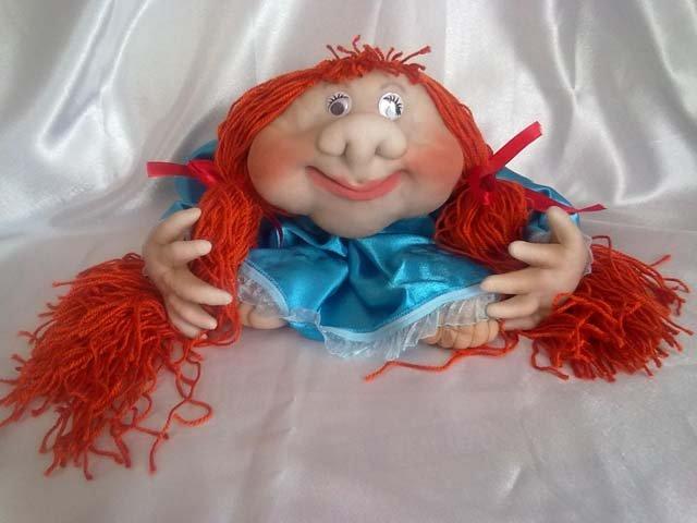 Куклы попики из колготок своими руками
