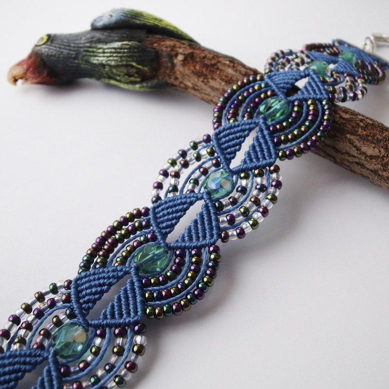 1460311140_macrame_bracelet_17_by_borysbrytva-d624otu Макраме браслеты: схемы плетения и видео, с ниток как сплести своими руками, для начинающих с бусинами стиль